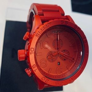 Limited edition all RED NIXON